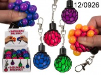 Squishy Mesh Ball on a Keychain