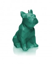 Bulldog Candle - Pearl Turquoise