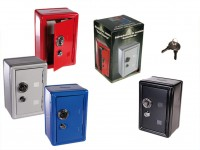 Mini Metal Safe Money Box