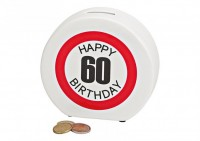 Happy 60 Birthday Money Box