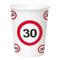 Birthday Party Cups (8 pieces) - 30