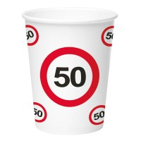 Birthday Party Cups (8 pieces) - 50