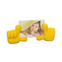 Baby Hands Photo Frame - Yellow