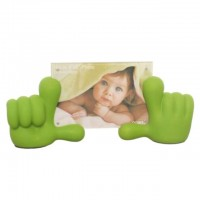 Baby Hands Photo Frame - Green