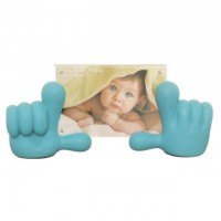 Baby Hands Photo Frame - Blue