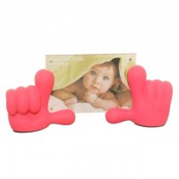Baby Hands Photo Frame - Pink