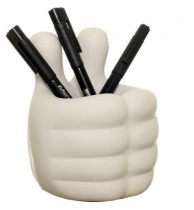 Baby Hands Pen Holder (White)