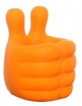 Baby Hands Pen Holder (Orange)