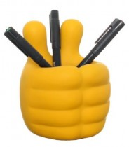 Baby Hands Pen Holder (Yellow)