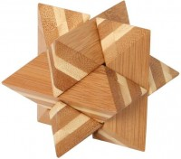 Bamboo Puzzle Star