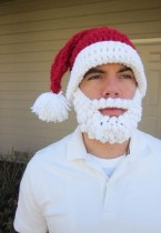 Santa Claus Hat with Beard