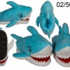Shark Slippers - sizes 31-36