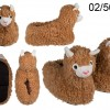 Llama Slippers - sizes 31-36