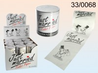 Just Married Toilet Paper