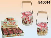 Country Christmas Candle - 12 items
