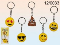 Emoticon Keychain