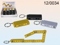 Folding Ruler Keychain