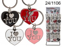 I Love You Heart Keychain