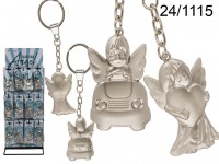 Metal Angel Keychain