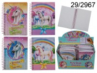 Unicorn-themed Spiral Notebook