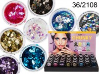 Chunky Cosmetic Face or Nails Glitter (Made in UK)