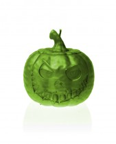 Halloween Pumkin Candle - Pearl Lime