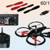 Dron Quandrocopter z LED