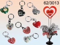 Clang Heart Keychain