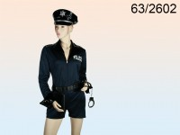 Female Police Officer Costume