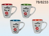 Coffee, Tea or Me Mug - 12 pieces