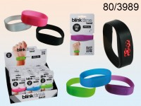 Blink Time Silicone Band