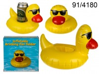 Inflatable Beverage Holder - Duck