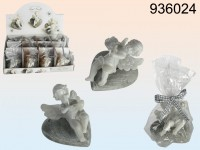 Angel Candle on a Heart - 12 pieces