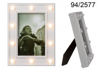 10 x 15 Glamour Picture Frame with LEDs
