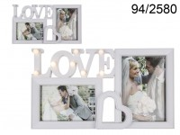 Love Glamour Picture Frame with LEDs