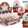Snow Globe - House & Christmas Figurines