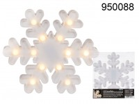 Snowflake Lamp with LEDs