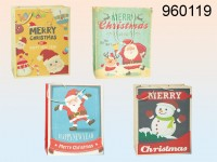 Vintage Christmas-themed Gift Bag