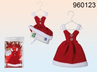 Santa Lady Dress - Christmas Gift Package