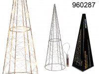 40 cm Metal Cone - Decoration with LEDs