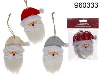 Hanging Christmas Decoration - Santa