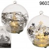 Glass Bauble with LED