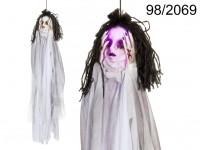 Halloween Ghost Girl with Light & Sound