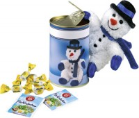 Snowman in a Can 500 items