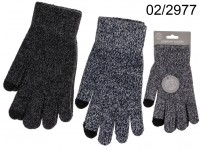 Comfort gloves, Touch, 100% polyester, one size, ...