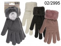 Comfort gloves, Solid Colour, 100% Polyacryl, one ...