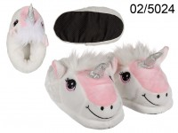 Cosy slipper, Unicorn, 100 % polyester, 3 double ...