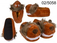 Cosy Slipper, Lion, 100% polyester, size: 31- 36 ...