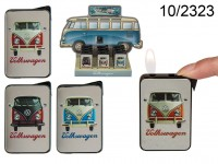 Electro metal lighter, VW Bus, 4 ass., 12 pcs. ...