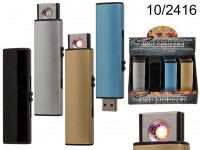 Electro USB lighter, with heater plug filament, ...